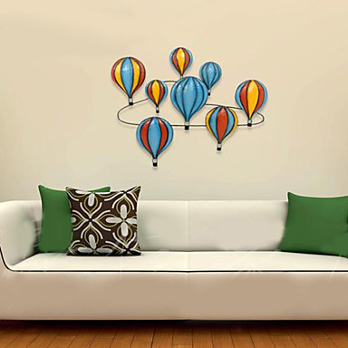 E home resin wall art wall decor colored balloons wall for Resin wall art