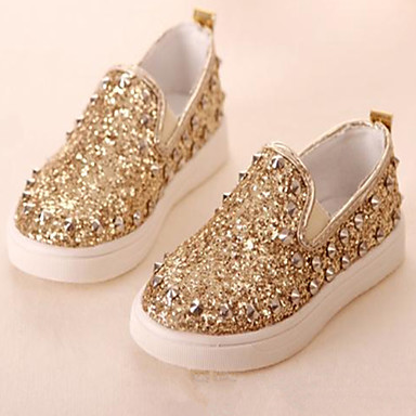 Baby Shoes Casual Glitter Fashion Sneakers Pink Silver