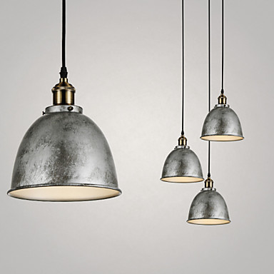 1 Lights/Pendant Lamps/Antique/Vintage Style/Industry Style/Iron MetalsDrop L...