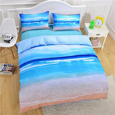 Beach Ocean Duvet Cover Set 3d Bedding Set Twin Full Queen
