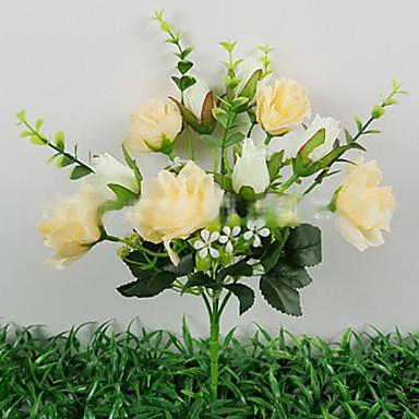5 cabezas de un paisaje de primavera de tres estir n - Plantas artificiales para decoracion ...