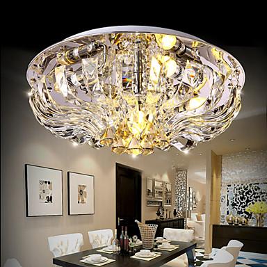 Mennyezeti lámpa - Kristály / LED - Modern/kortárs - Nappali szoba / Hálószoba / Étkező ...