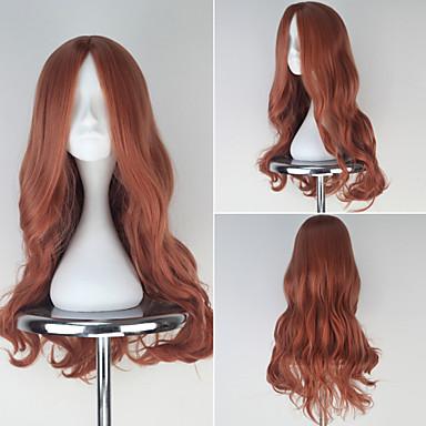 Buy Digimon Adventure TACHIKAWA MIMI Long Wavy Orange Color Girl's Anime Cosplay Full Wig