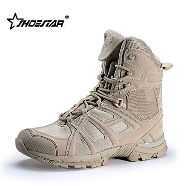 Buy Shoestar R Men's Uniform/ Tactical Boots/Trail Running Shoes Nylon / Fleece Black Khaki