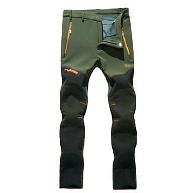 Wolfcavalry Men's Spring / Autumn / Winter Hiking Pants PantsWaterproof / Breathable / Insulated / Rain-Proof 2-14