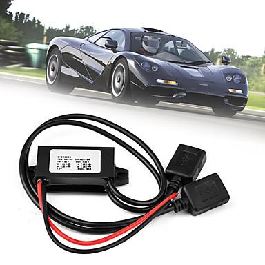 Buy 12V 5V USB DC-DC Buck Converter Car Power Supply Regulator