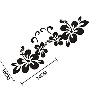 Buy Funny Flowers Car Sticker Window Wall Decal Styling