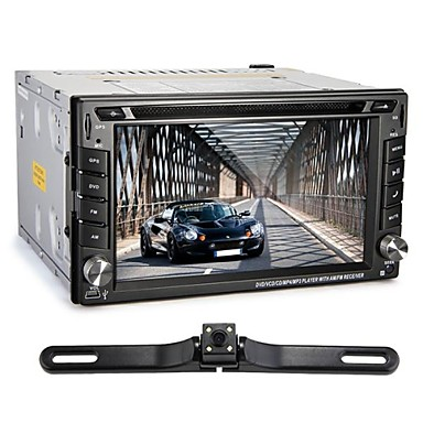 Buy 6.2 inch Double Din In-Dash Touch Screen Car DVD Player GPS 4G Bluetooth Radio FM AM