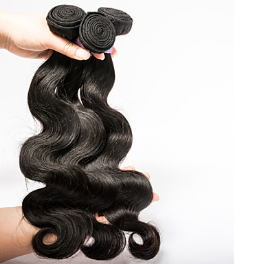 Buy Super Deal 7A Brazilian Virgin Hair Body Wave total 300 gram Natural Color
