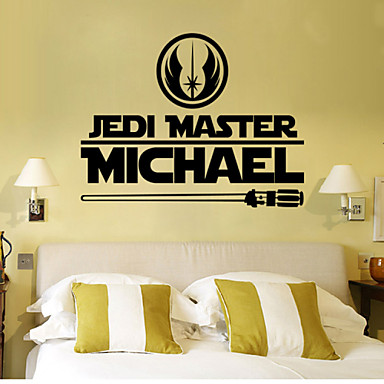 W 7 Star Wars Wall Art Sticker Wall Decal Diy Home Decoration Wall Mural Removable Bedroom