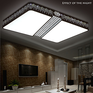 Flush Mount Led Modern Contemporary Living Room Bedroom Dining Room Study Room Office