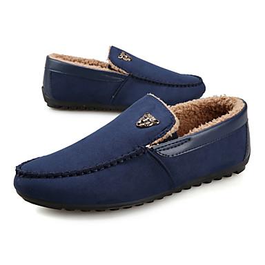 Zapatos de hombre mocasines oficina y trabajo semicuero - Zapatillas de trabajo ...