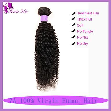 Buy 7A Grade Brazilian Virgin Hair Kinky Curly Unprocessed Human