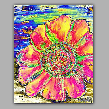 Buy Big Floral Oil Painting 1 Piece Living Room