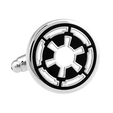 Star Wars The Old Republic emblem round rudder French shirt cufflinks cuff nail Christmas Gifts