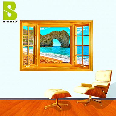 Romanticismo natura morta paesaggio forma tempo libero for Adesivi parete 3d