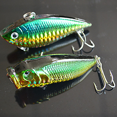 Buy 70mm 12.5g Fishing Bait VIB / Popper Lure