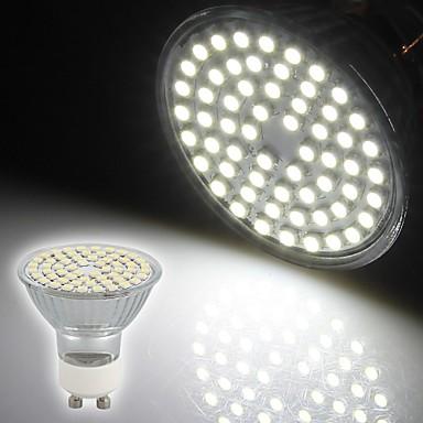 Focos LED Decorativa OEM Luces Empotradas GU10 3W 60 SMD 3528 230 LM Blanco Natural AC 100-240 V ...