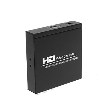 Buy HDMI CVBS L/R Scaler Converter Zoom Function Supporting HDCP 1.3 NTSC PAL TV Format PS3 XBOX360