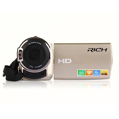 """RICH® FW-560S HD 1080P Pixels 16 Mega Pixels 16X zoom 3""""LCD Screen Full HD Digital Camera Camcorder"""