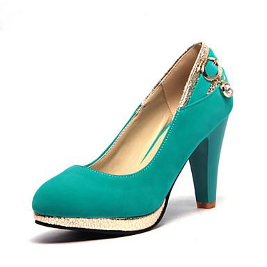 Buy Women's Shoes Heel Heels / Platform Office & Career Dress Casual Black Blue Brown Red/B-11