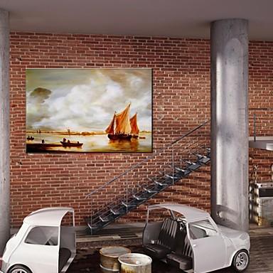 Dipinta a mano paesaggi astrattimodern classico for Casa in stile europeo