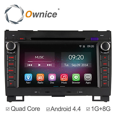 Buy 8 Inch 2 Din In-Dash Car DVD Player Greatwall H3 H4 Quad Core CPU Pure Android 4.4 OS GPS Navigation