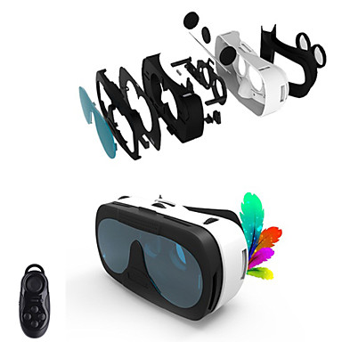 Buy VR BOX 3.0 Version Virtual Reality 3D Glasses + Bluetooth Controller 4~6.0 inch Smartphone