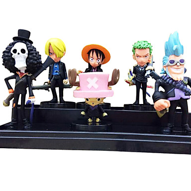 Buy One Piece Anime Action Figure 10CM Model Toy Doll Toy(6 Pcs)