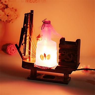 Fles lamp blokker