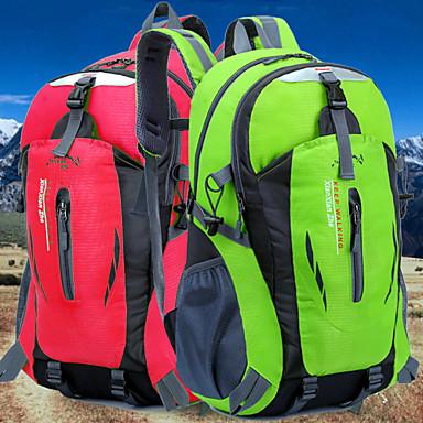Buy Backpack Camping & Hiking Waterproof / Rain-Proof Water Bottle Pocket Dust Proof Multifunctional 40 L