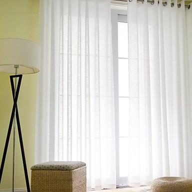 To paneler moderne solid som på billede stue linned/polyester ...