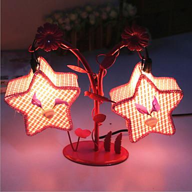 Kreative to pentagram lampe soveværelse sengelampe belysning ...
