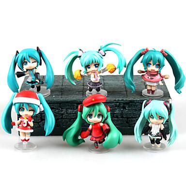 Buy Christmas Miku Hatsune 7CM PVC Anime Action Figures Doll Toys