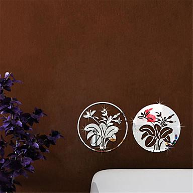 Bot nico romance espejos de moda florales formas - Adhesivos pared 3d ...