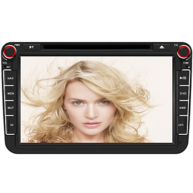 Buy 8 inch 2Din TFT Touch Screen In-Dash Car DVD Player GPS,Bluetooth,FM; Support HD 720P,1080P,Steering Wheel Control