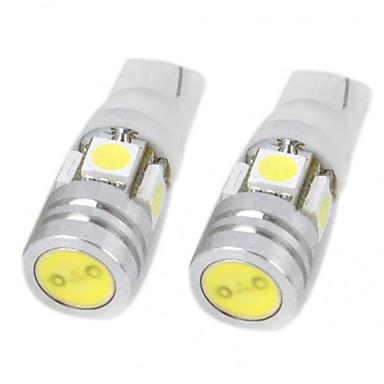Buy 12V 5W T10 5050 4SMD LED Reading Lamp, Door Lamp Super Bright White