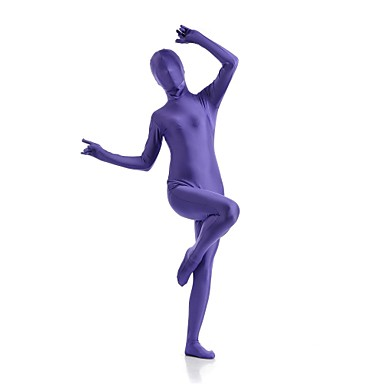 Buy Unisex Zentai Suits Lycra / Spandex Purple