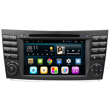 Buy Android 4.4.4 Car DVD Player GPS BENZ W211 Quad-Core Contex A9 1.6GHz,Radio,RDS,BT,SWC,Wifi,3G