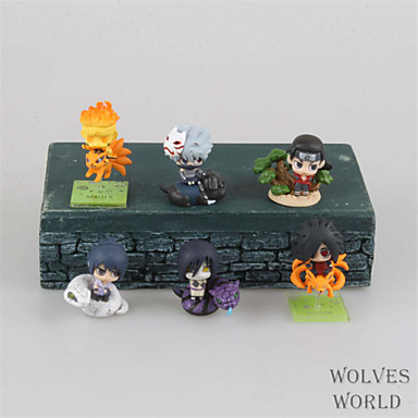 Buy Naruto Hokage Anime Action Figures Model Toys Doll Toy 6cm