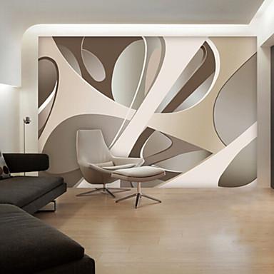 Grande murale carta da parati grafica astratta della carta - Carte da parete moderne ...