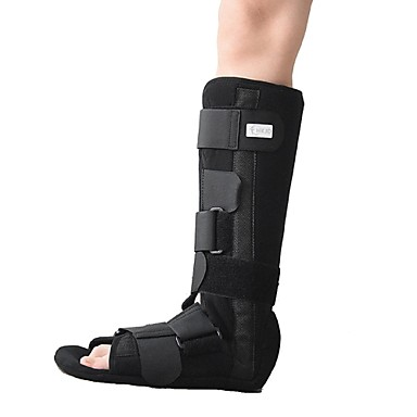walker boot for fixation of tibia and fibula fracture