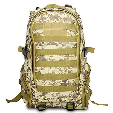 Buy 35 L Hiking & Backpacking Pack / Backpack Camping Outdoor Multifunctional Army Green Oxford
