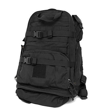 Buy 42 L Hiking & Backpacking Pack / Backpack Camping Outdoor Multifunctional Black Nylon