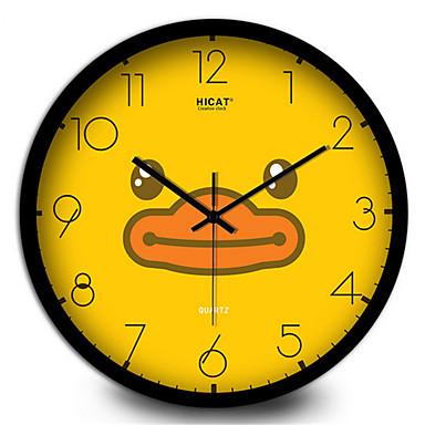 Cute Cartoon Duck Study Children 39 S Bedroom Wall Clock