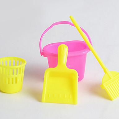 enfants kit de nettoyage de simulation props s rie jouent nettoyage de la maison balai poubelle. Black Bedroom Furniture Sets. Home Design Ideas