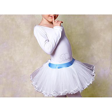 Danse classique robes enfant entra nement coton dentelle 1 - Taille moyenne enfant ...