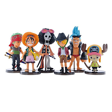Buy One Piece Black Full Set 24 Generation Luffy Sauron Joba Anime Action Figure