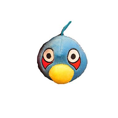 Blue Squeaking Bird Cat Toy