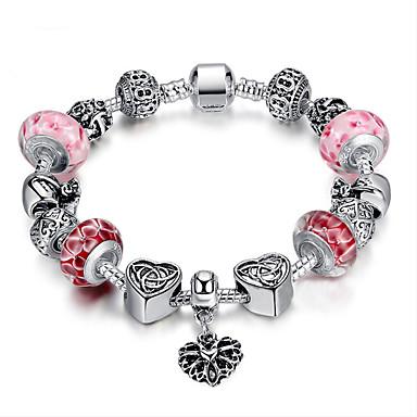 Buy Fashion Women DIY jewelry Beaded glass beads Europe charm bracelet Woven Bracelet